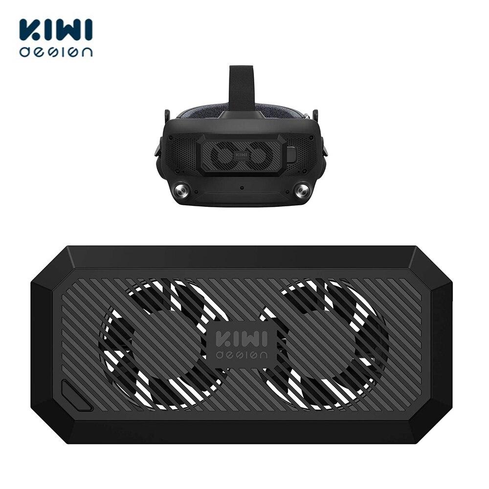 Ventilador de radiador USB de diseño KIWI, accesorios para válvula, índice de refrigeración, auriculares VR, juego con 2 engranajes, viento ajustable