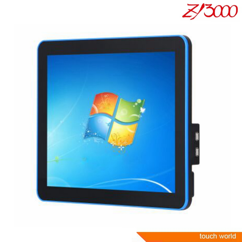 NEW Fanless J1900 4G 64G SSD 15 Inch Capacitive Multi Touch Screen All In One PC Put On The Wall