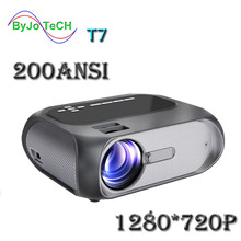 ByJoTeCH T7 FULL HD 1280x720 Home Theater LED 1080p projector 200 ANSI multimedi