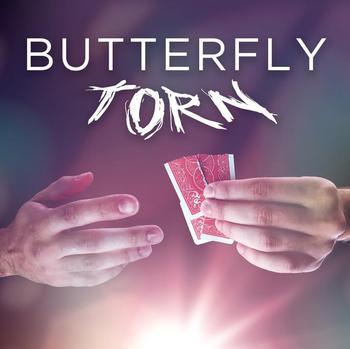 Mariposa rota por Yvan Garmy trucos de magia
