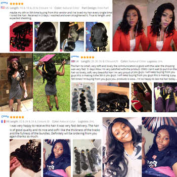 Malaysian Body Wave Bundles 100% Human Hair Bundles 8-28 Inch 3/4 Bundle Deals Natural Color Non Remy Hair Extension Beyo