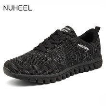NUHEEL men's shoes men's casual shoes all-match mesh shoes men's light sports outdoor sports casual shoes men