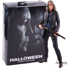 Neca Halloween Utama Laurie Strode Neca Horror Action Figure PVC Collectible Model Toy Doll
