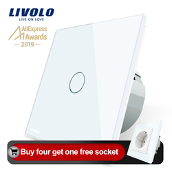 Livolo luxury Wall Touch Sensor Switch