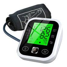 Kan basıncı monitörü kol tipi tansiyon aleti otomatik tonometre elektronik LCD dijital akıllı ölçüm aletleri