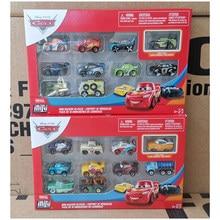 Original disney pixar carros mini pilotos de metal brinquedos diecast preto tempestade jackson relâmpago mcqueen modelo de carro menino brinquedo presente gkg08