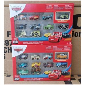 Оригинальные Дисней Pixar Автомобили мини металлические гонщики литые игрушки черный шторм Джексон Молния Маккуин модель автомобиля ребенок...