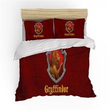 Bedding-Set Bedclothes-Sheet-Set Duvet-Cover Harrypotter Pillowcase Bedroom 3D Print