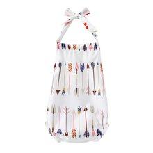 Летняя детская одежда Одежда для новорожденных девочек комбинезоны