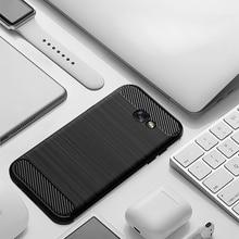 Case For Samsung Galaxy A7 2017 A7200 A720F Case Silicone TPU Shockproof Carbon Cover for Samsung Galaxy A7 2018 A7500 A750F