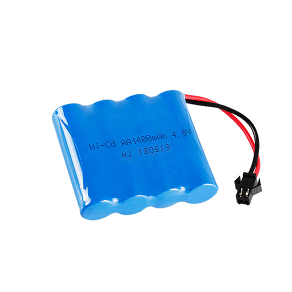 4.8v 1400mah ni-cd <font><b>battery</b></font> <font><b>nicd</b></font> <font><b>aa</b></font> 4.8v rechargeable <font><b>battery</b></font> pack <font><b>1.2v</b></font> 1500mah <font><b>batteries</b></font> not nimh for cars 4.8v RC boat toy image