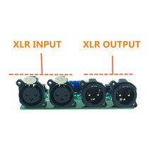Mshow DIY מאוזן preamp לוח לא מאוזן מאוזן RCA לxlr עבור HIFI מגבר אודיו משלוח חינם