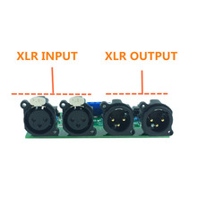 Mshow placa preamplificadora balanceada, placa preamplificadora, desbalanceada, RCA a XLR para preamplificador de alta fidelidad, AUDIO, envío gratis