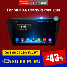 Junsun Auto Radio AI Voice Control 2 + 32GB Android 10 Für SKODA Octavia 2013-2018 A7 Auto radio Multimedia Video Player Navigation