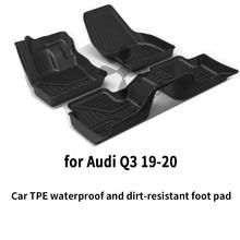 Автомобильный напольный коврик для ног audi q3 любой погоды