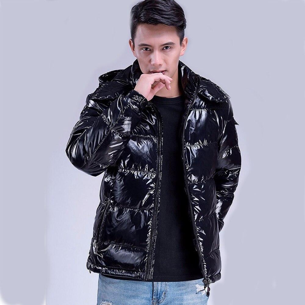 2019 New Men's Coat Winter Men Jacket Thick Student Clothing Fashion Black Men Parkas