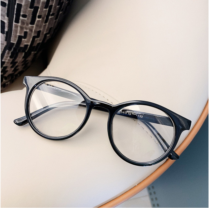 Hb0fc83e8f6344ca780898831e37856e99 - VWKTUUN Round Glasses Frame Vintage Soild Candy Color Eye Glasses Frames For Women Clear Lens Myopia Computer Glasses