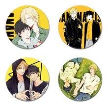 Broche de dessin animé Manga BANANA FISH Okumura Eiji Cosplay, broches de Collection, Badges pour sacs à dos, nouvelle Collection