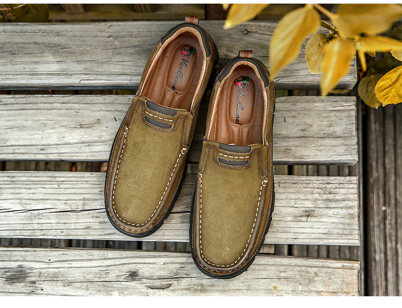 Hb0fcbf9c0a9a40abbb4e866f105c9600j ZUNYU New Genuine Leather Loafers Men Moccasin Sneakers Flat High Quality Causal Men Shoes Male Footwear Boat Shoes Size 38-48