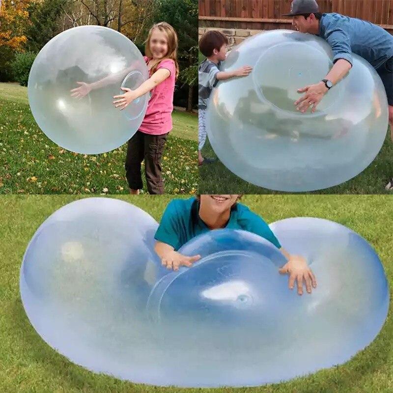 Bolhas de ar macio para crianças, balão de inflar para fora, jogo de festa divertido e presente de verão para crianças lembranças de festa
