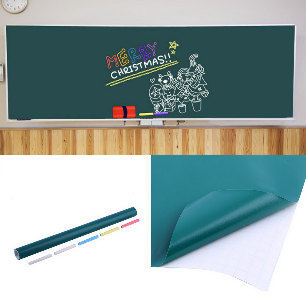 Movable Write Board Foil Self Adhesive Wall Stickers Memo Board Notes Study Re-writing Wall for Child Office Home Wholesale Hot