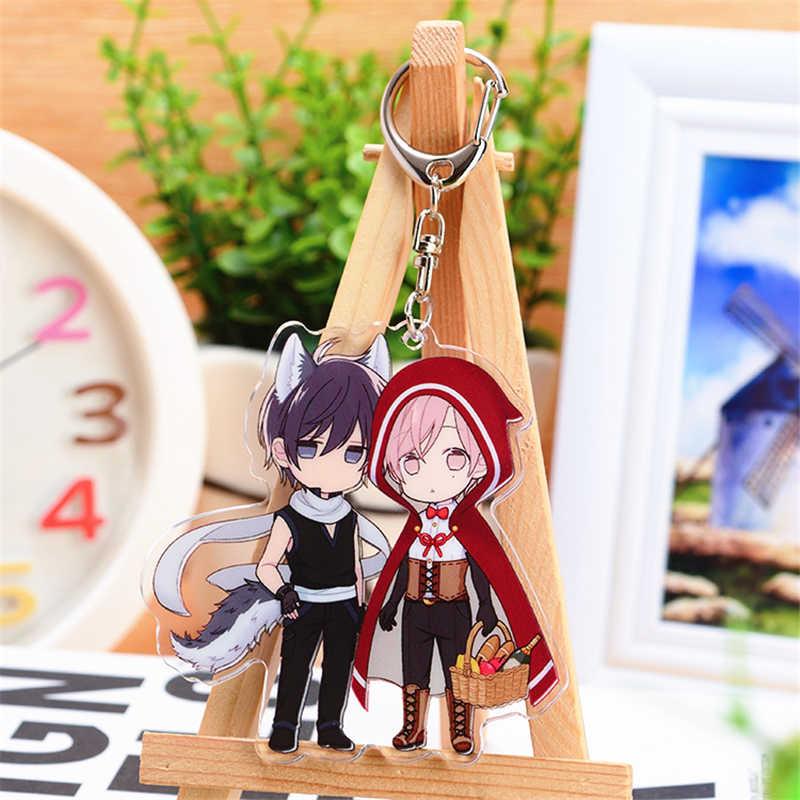 1 stücke Anime ZEHN ZÄHLEN Keychain Cartoon 10 ZÄHLEN Gedruckt Handy Seil Anhänger Cosplay Decor Schlüsselring Weihnachten Geschenke Heißer
