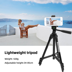Image 5 - MountDog 35 85cm Adjustable Mini Tripod Stand For Phone Mount Holder With Phone Clip For GoPro Action Camera