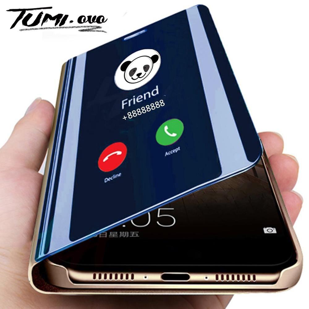 Зеркальный флип чехол для телефона для samsung Galaxy Note 10 Pro 9 8 S10 5G S9 S8 плюс S10E S7 край A80 A70 A50 A30 A10 A7 J4 J6 2018 крышка|Чехлы-книжки|   | АлиЭкспресс