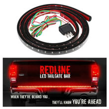 "Bar Rood en Wit 12V 72LED Running/Rem/Achteruit/Signaal/Achter Strip Licht Lamp 22W 49 ""Flexibele LED Auto Truck Achterklep Light(China)"