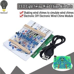 laboratory Swing bells Wobbly Windbell Fun Electronic DIY Kit Wring 95 LEDs Wind bell 5V 9V