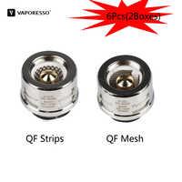 6pcs Original Vaporesso Coil 0.2ohm QF Mesh 0.15ohm QF Strips Vape Core For SKRR Atomizer Electronic Cigarette