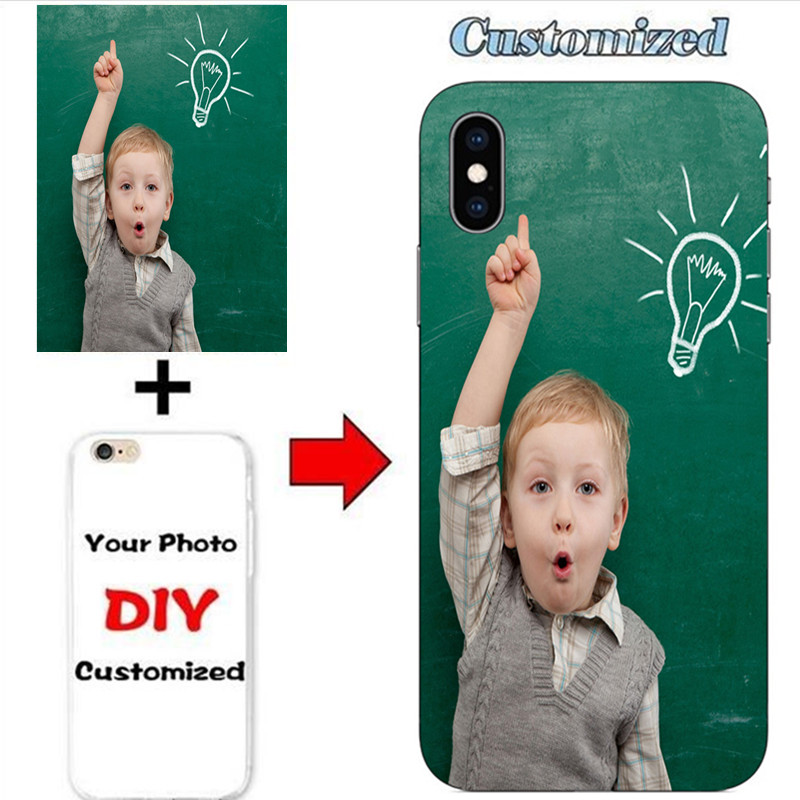 Customized LOGO Name Custom Photo Case For <font><b>Lenovo</b></font> K5 Play <font><b>L38011</b></font> 5.7inch K5 Pro 5.99inch DIY Picture Personalized Soft Cover image