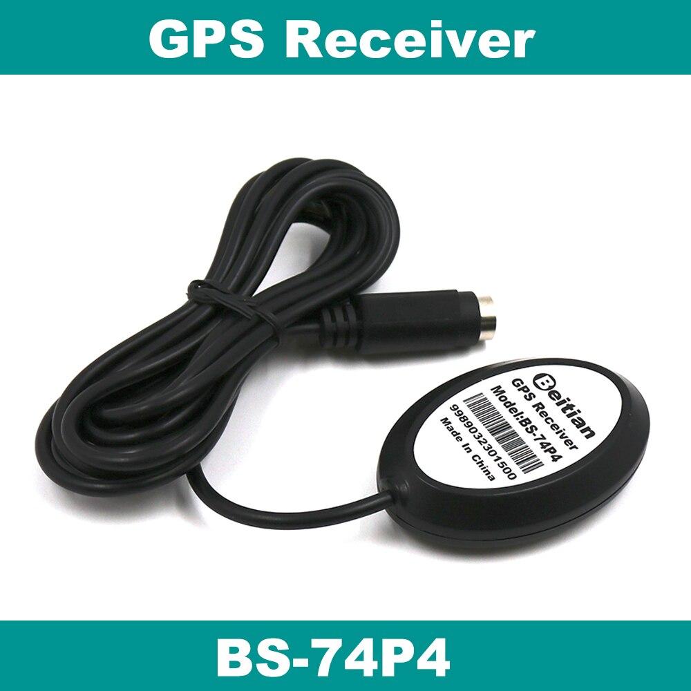 BEITIAN Новый 3,6 V-5,0 V RS-232 уровень 4800bps 4M Flash PS2 гнездовой разъем gps приемник BS-74P4