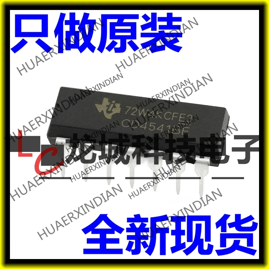 10PCS/LOT NEW Original factory <font><b>CD4541BE</b></font> CD4541 DIP14 in stock image