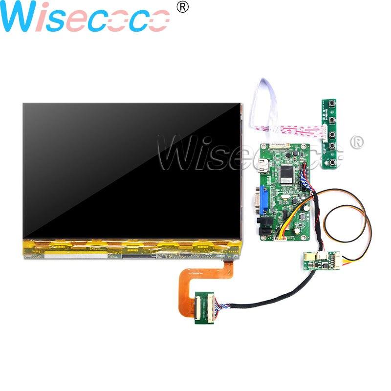 Wisecoco 10.1 IPS 2K supprimer rétroéclairage 2560*1600 pour imprimante 3D VGA HDMI carte vvvx10t022n00