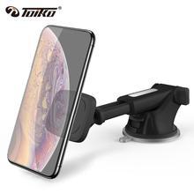 TOIKO bras télescopique voiture téléphone support pour samsung iPhone Smartphone pare brise tableau de bord ventouse magnétique support de montage TK DW2