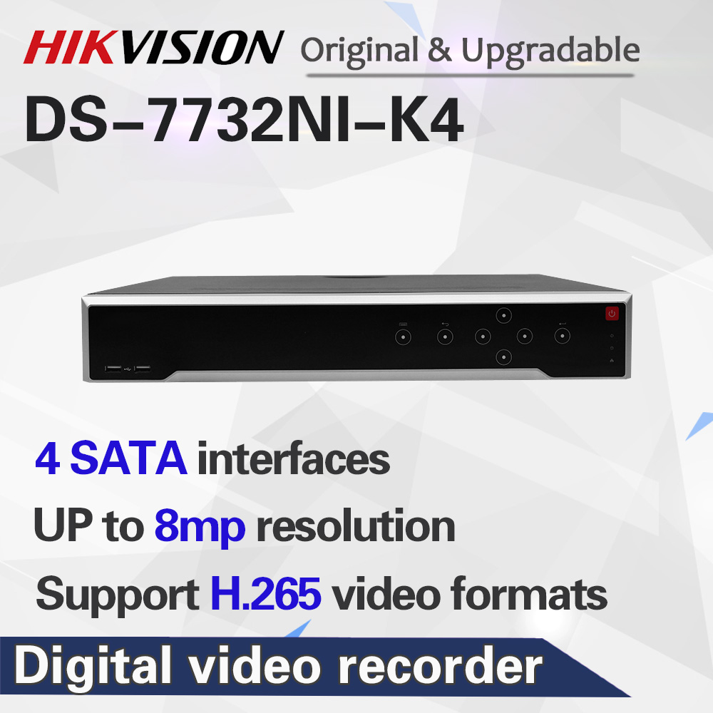 HIKVISION 4K NVR DS-7732NI-K4 International Version For 32 Ch 8MP Cameras Support ONVIF Hik-Connect Wholesale title=