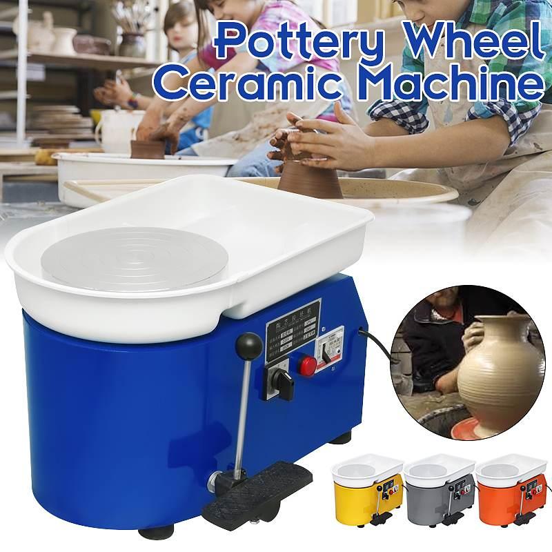 250 W/350 W 110 V/220 V poterie électrique roue en céramique machines-outils bricolage étudiants poterie roue pour céramique travail céramique argile