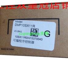 New Original DVP10SX11R DC24V PLC 2AI 2DO 2AO Transistor Mancha