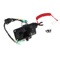 Motorcycle Single Engine Ignition Key Switch Panel Switch for Yamaha 4.5x2.8inch