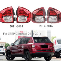 High Quality MZORANGE Taillight For JEEP Compass 2011 2016 Rear Brake Tail Light Warning Lamp Stop Light Car Accessories