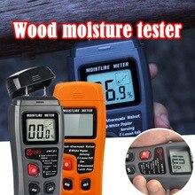 Цифровой измеритель влажности, измеритель влажности для древесины, строительный материал, дровяная бумага, измеритель влажности, цифровой измеритель влажности, горячая Распродажа