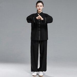 Image 3 - Mới Kung Fu Taichi Đồng Nhất Trung Quốc Đầm Bộ Nữ Trung Quốc Quần Áo Dành Cho Nam Trung Quốc Truyền Thống Quần Áo Dành Cho Nữ Đồng Nhất