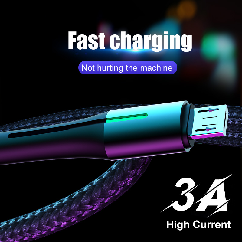 H&A Micro USB Cable Fast Charging 3A Micro usb Cord For Samsung S7 Xiaomi Redmi Note 5 Pro Android Phone cable Micro usb charger