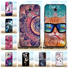 For Huawei Honor 6A Case Silicone TPU Black Cover Pro / 5C holly 4 3D Cute Bag Cases