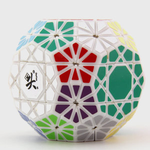Image 5 - DaYan Gem VI Magic Cube Skewed/Skewbed Professional Speed Twist Puzzle Antistress Educational Toys For Children