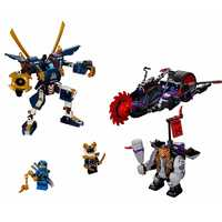 Новинка 556 шт Killow Vs. Samurai X строительные блоки совместимы с Legoinglys Ninjagoing 70642 игрушки для детей Подарки