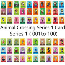 Hayvan geçiş kartı Amiibo kilitleri nfc kart iş için NS oyunları serisi 1 (001-100)