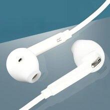 Fones de ouvido portáteis com microfone, fone de ouvido intra-auricular, com fio, música estéreo, 3.5mm, para samsung s6/borda s6