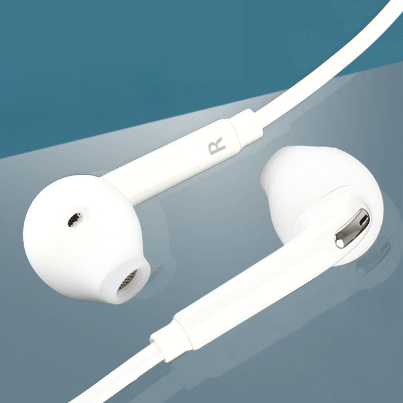 3.5mm Stereo Music <font><b>Earphones</b></font> Portable <font><b>Earphone</b></font> Wired In-Ear Headset No <font><b>Bluetooth</b></font> <font><b>with</b></font> <font><b>Microphone</b></font> for Samsung S6/ S6 Edge image